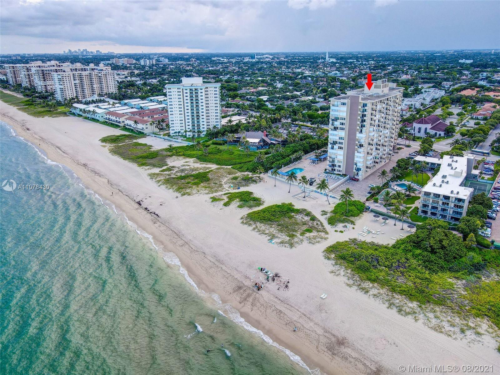 This perfect in-town, oceanfront apartment has been tastefully renovated and has outstanding OCEAN,