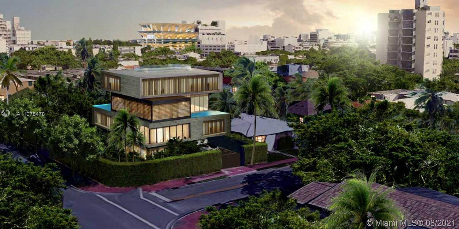 SHOVEL READY. Amazing development opportunity, prime location in the heart of South Beach. Approved