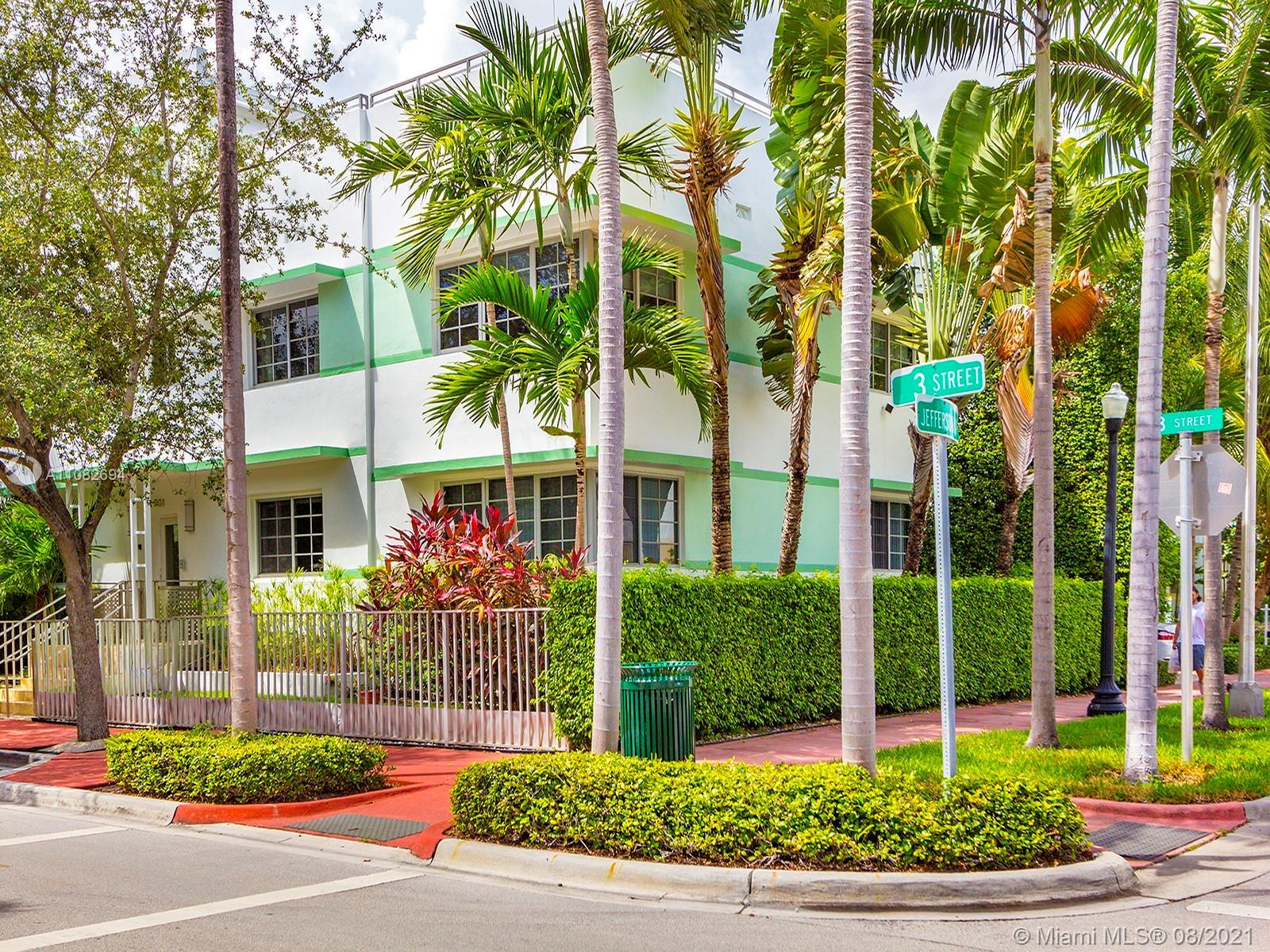 South of Fifth is the premiere location within South Beach, and this extremely unique property is ri