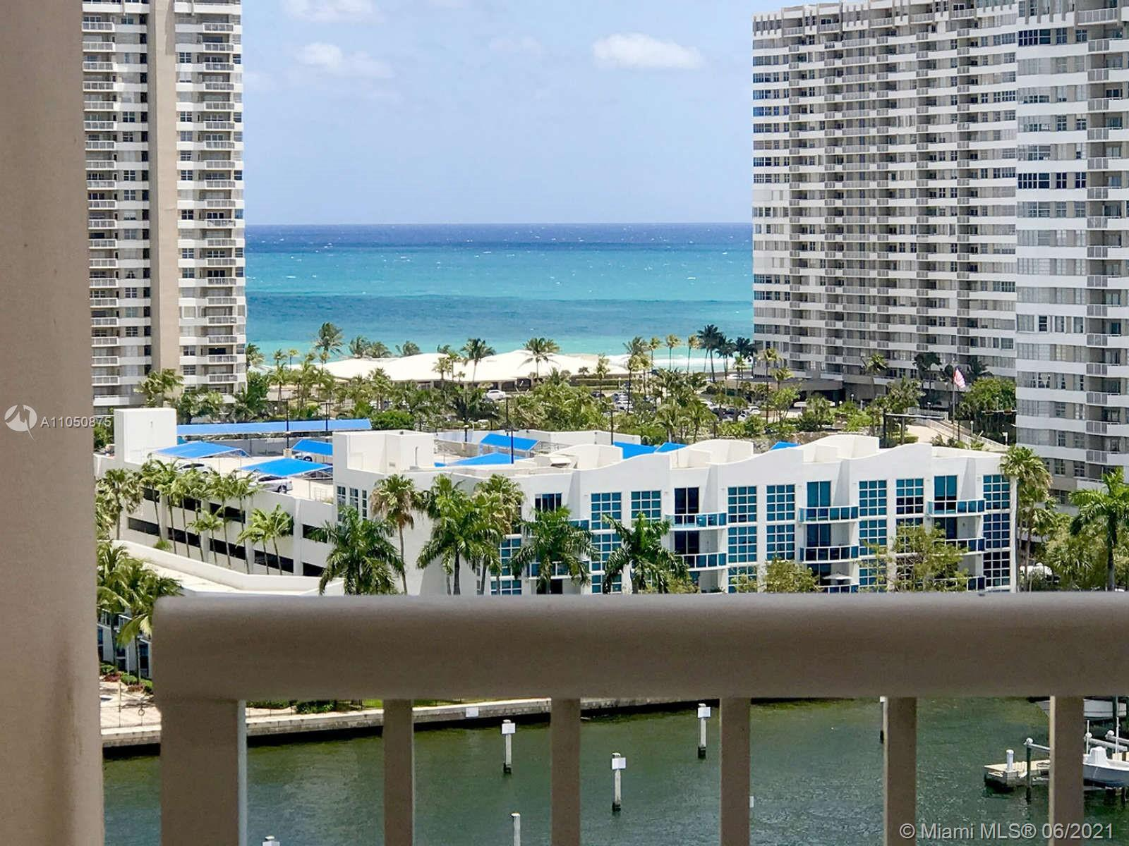 Ocean and canal views from every room. Washer/dryer in unit. Quiet private corner 3-bedroom unit. No
