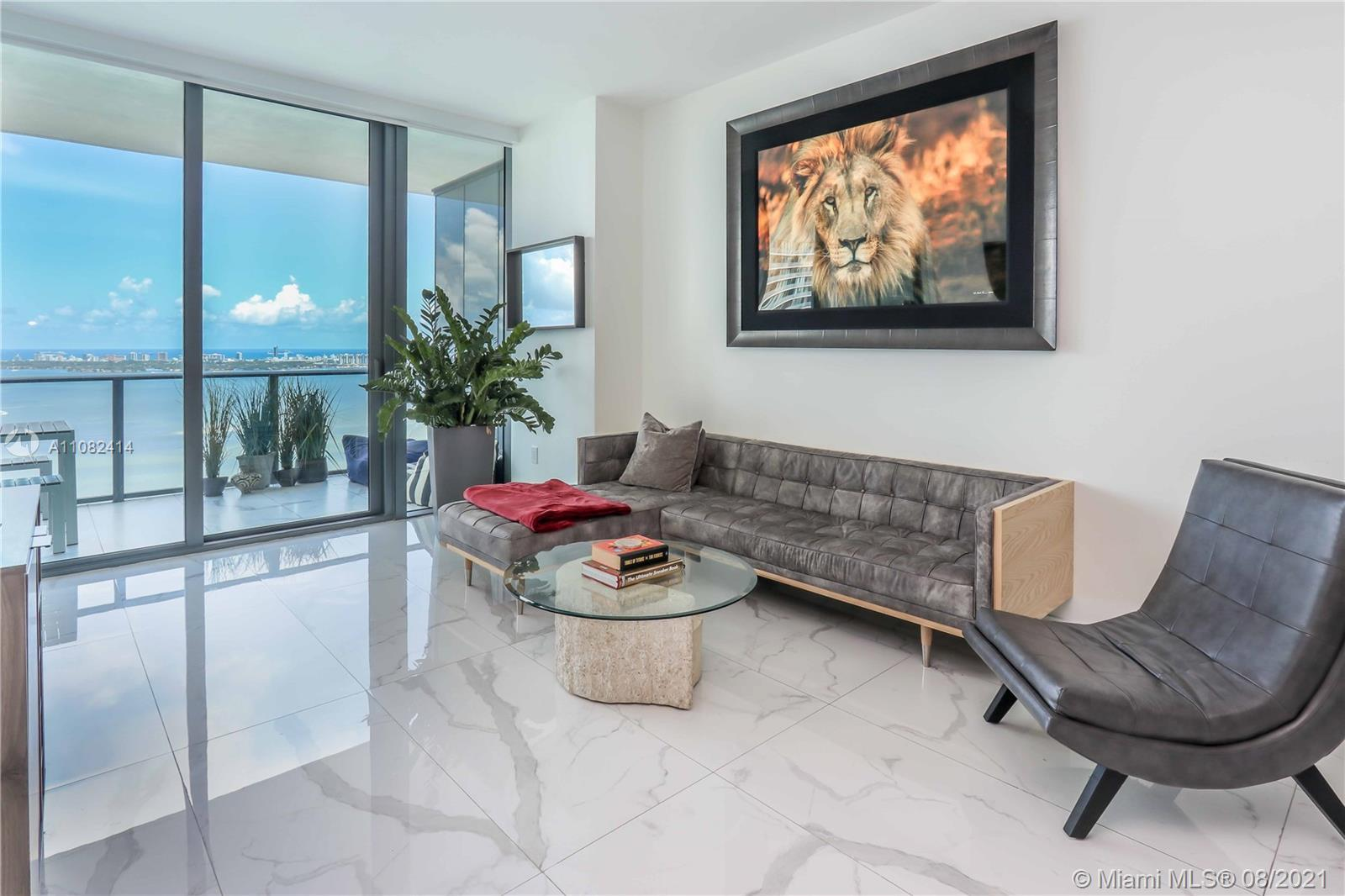 Gorgeous high floor 03' line at Gran Paraiso Residences in Miami's Edgewater District. This floorpla