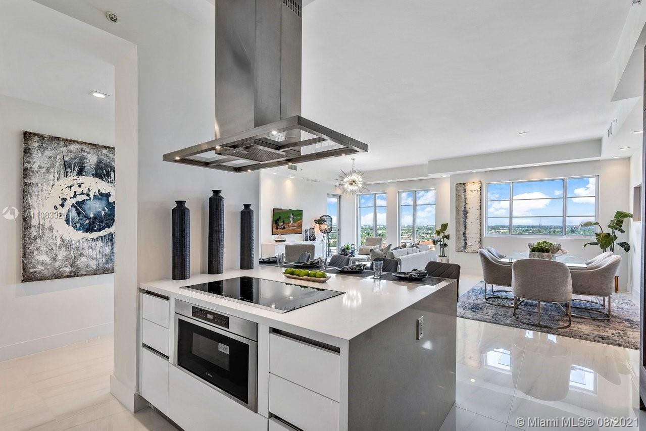 Experience sweeping ocean views from this one-of-a-kind corner penthouse at Boca Raton's most chic,