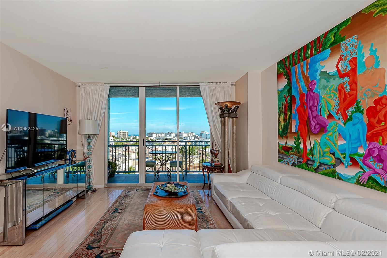 BEST PRICE IN THE BUILDING!!! GREAT OPPORTUNITY. South of Fifth living at THE YACHT CLUB. Balcony to