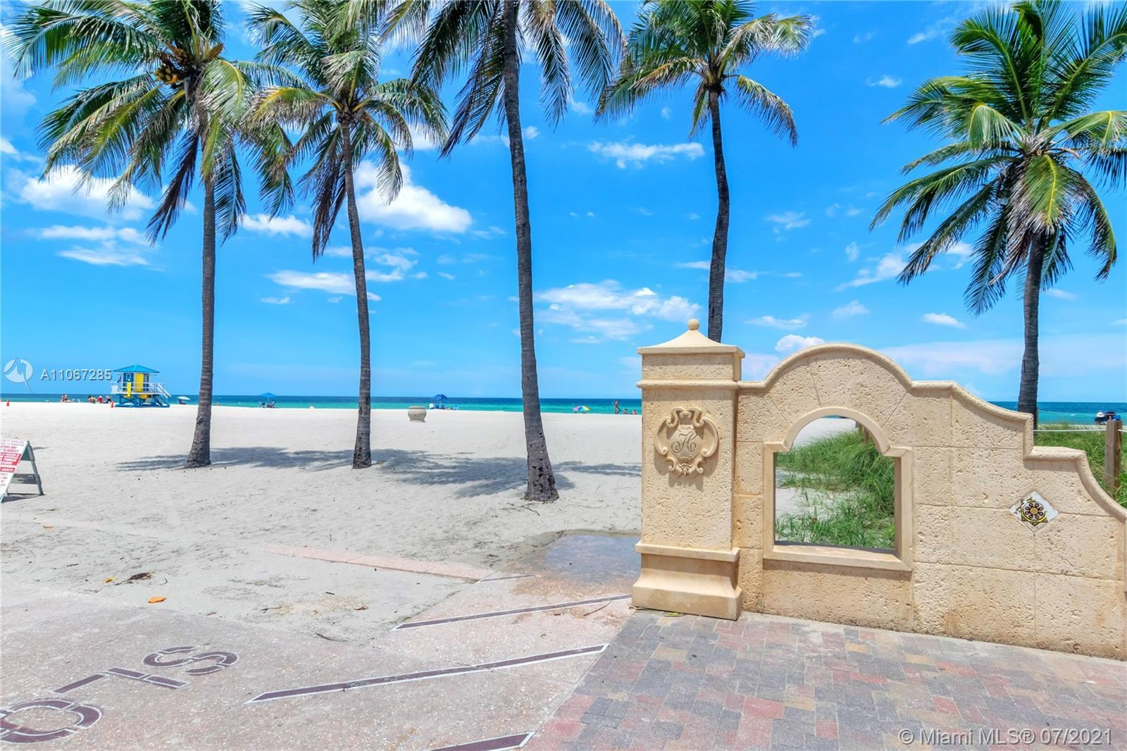 TRUE PRIDE OF OWNERSHIP IN THIS DIRECT OCEAN FRONT HOLLYWOOD BEACH OASIS,  REMODELED, WITHOUT THE SL