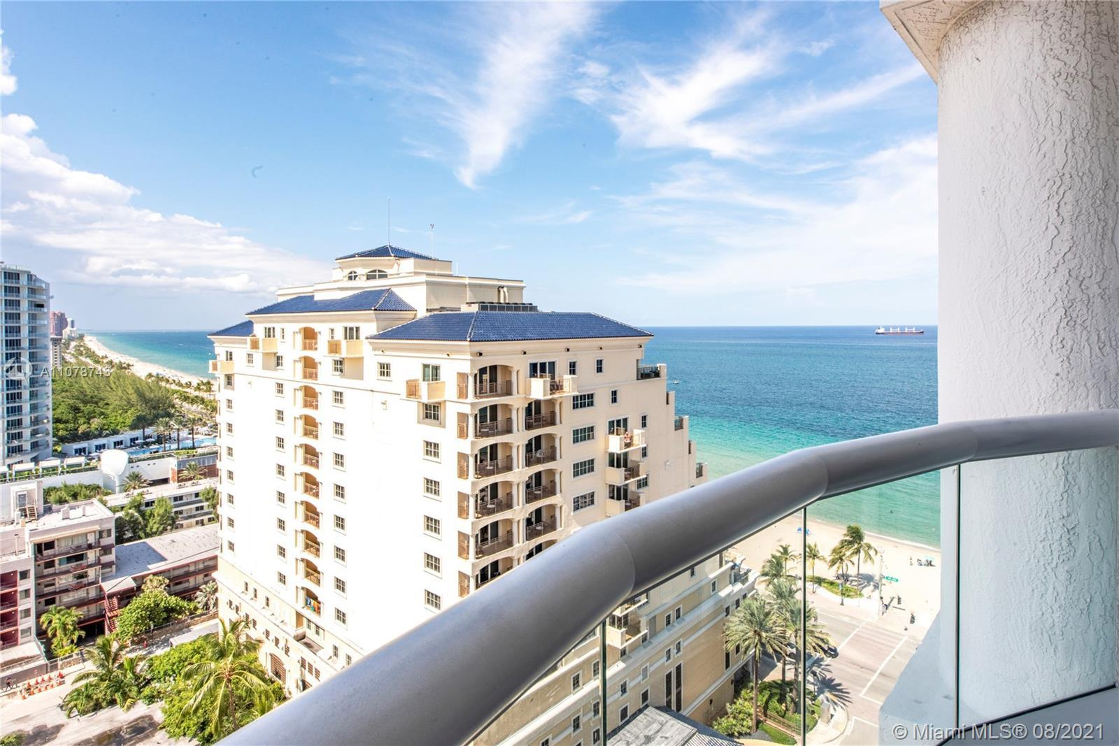 Spectacular turn-key unit in The Ocean Resort with awe inspiring Ocean views. This luxurious fully f