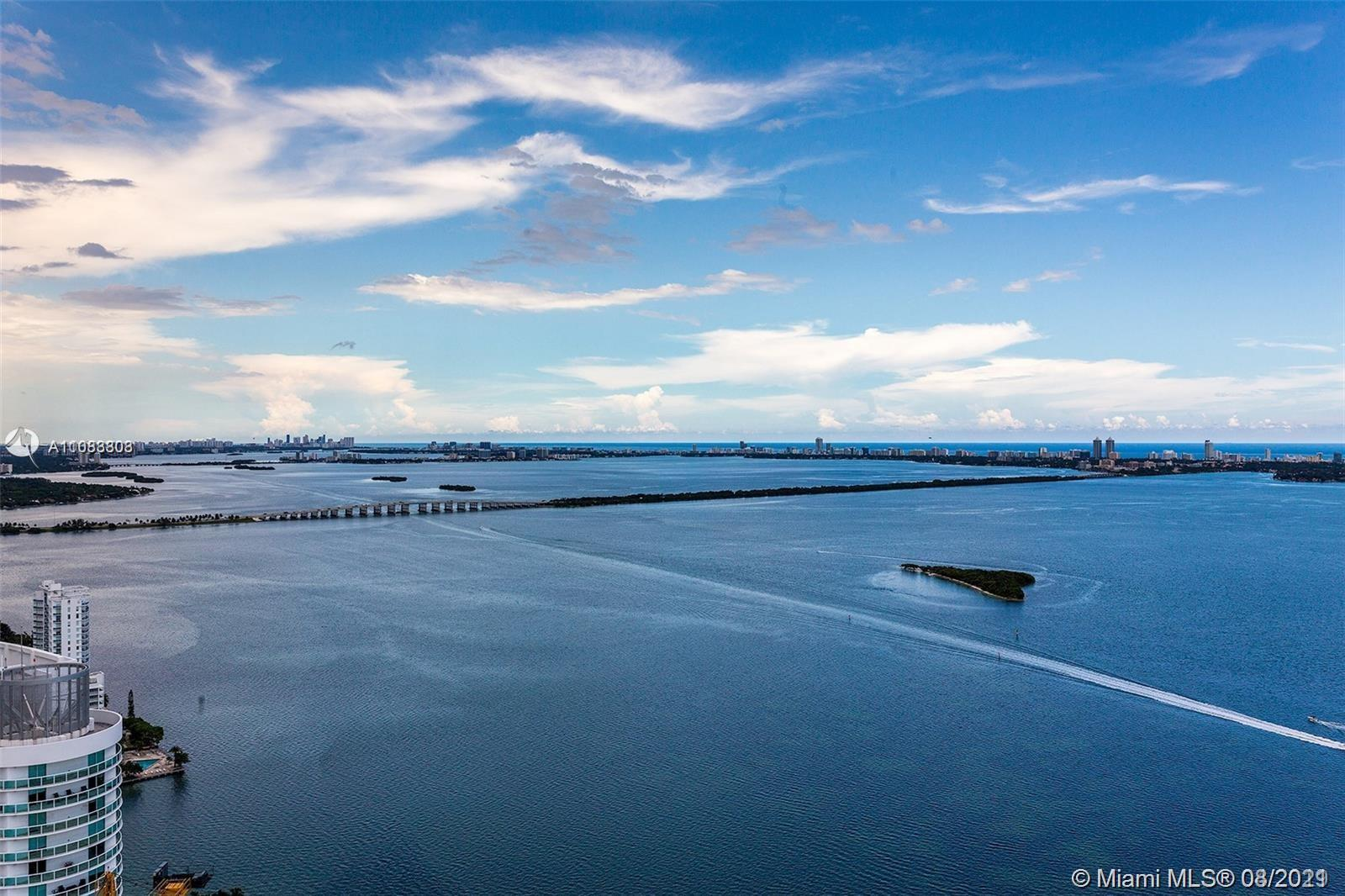 Unrivaled view of crystal clear ocean and Miami Beach - view is guaranteed no possibility of future