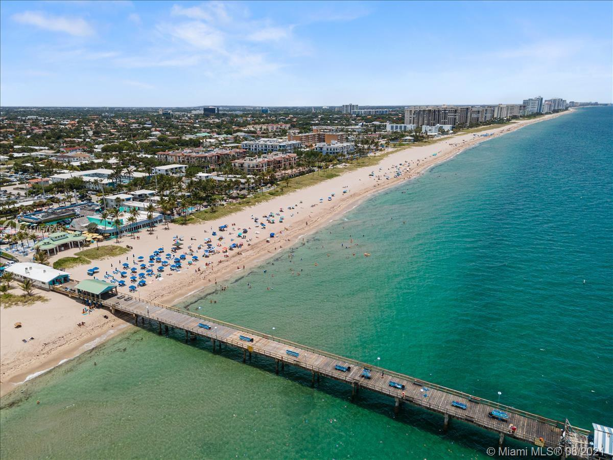 Absolutely charming and beautiful 2 bed 2 bath oceanfront condo co-op in Lauderdale By The Sea.  Ste