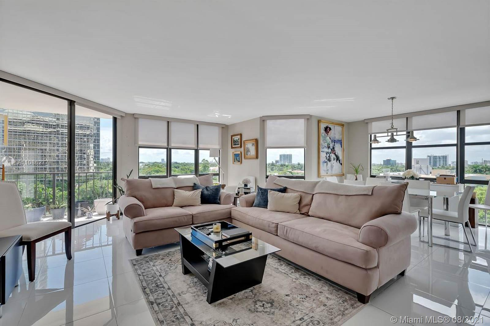 Beautiful corner unit totally remodeled! 2 bedrooms and 2 full bathrooms and half for guest. Amazing