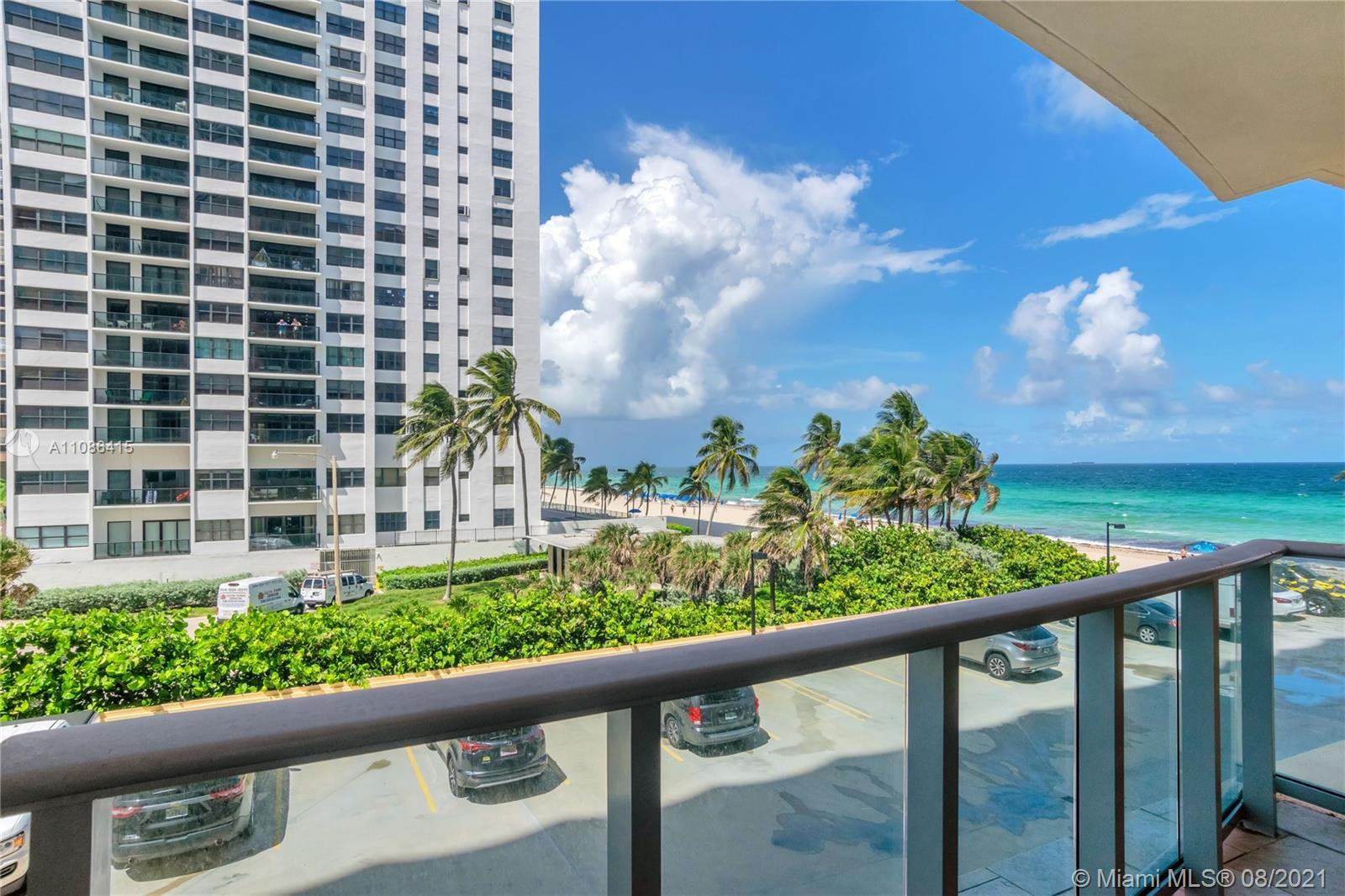 Fall in love with the view from your Private Balcony. Come live where others vacation at The Wave Co