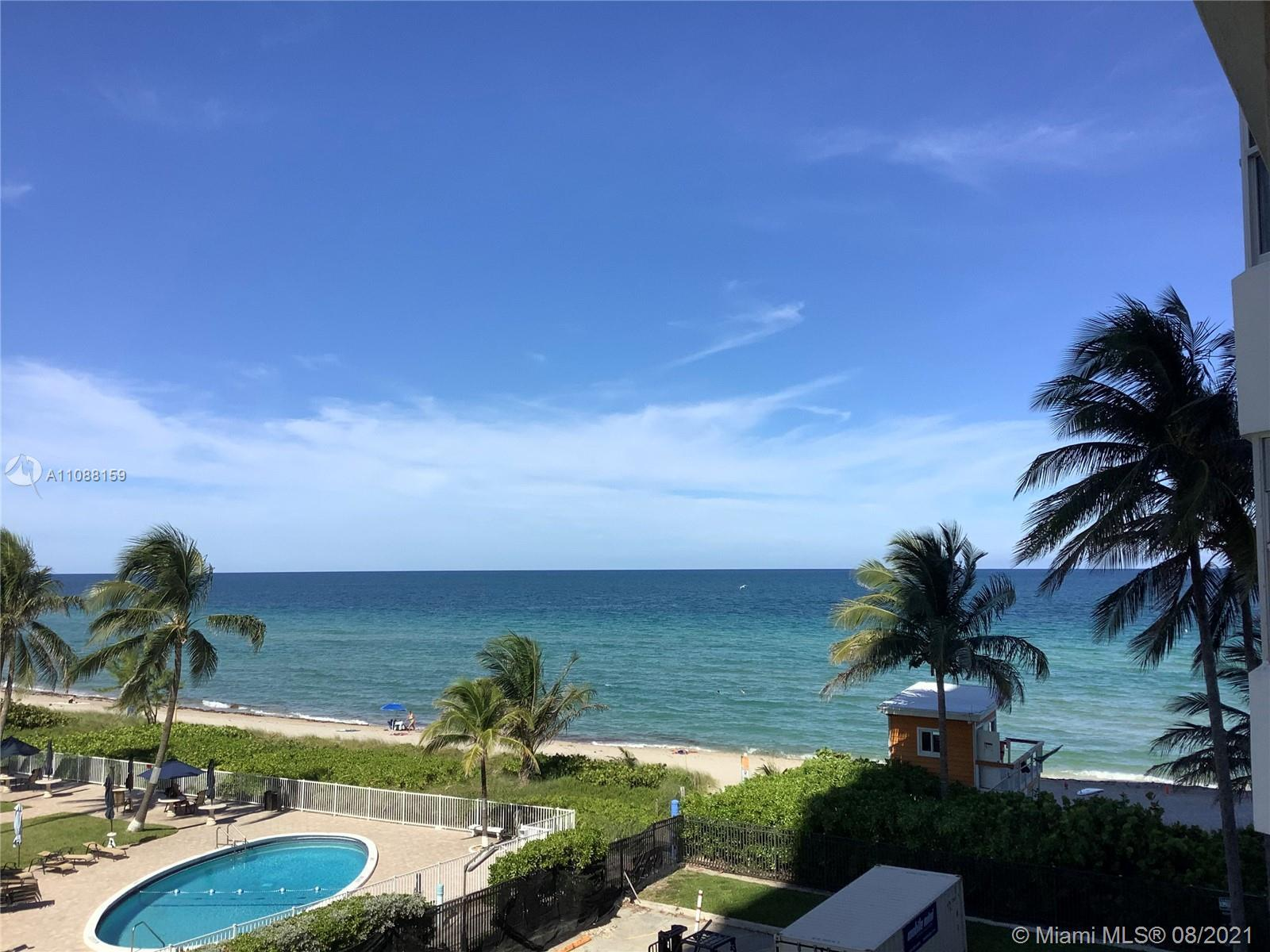1 Br 1.5 Bath on the Ocean in Ocean North, the most desirable and closest to the beach. Beautiful Oc