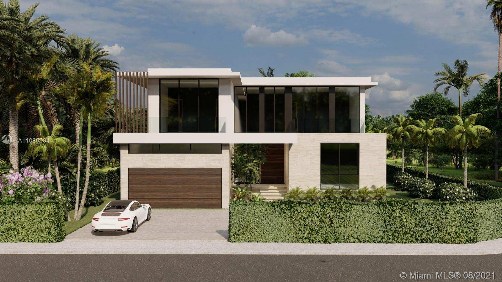 Step inside with me - brand new construction in Surfside. This modern 2-story home sits on a rare ov