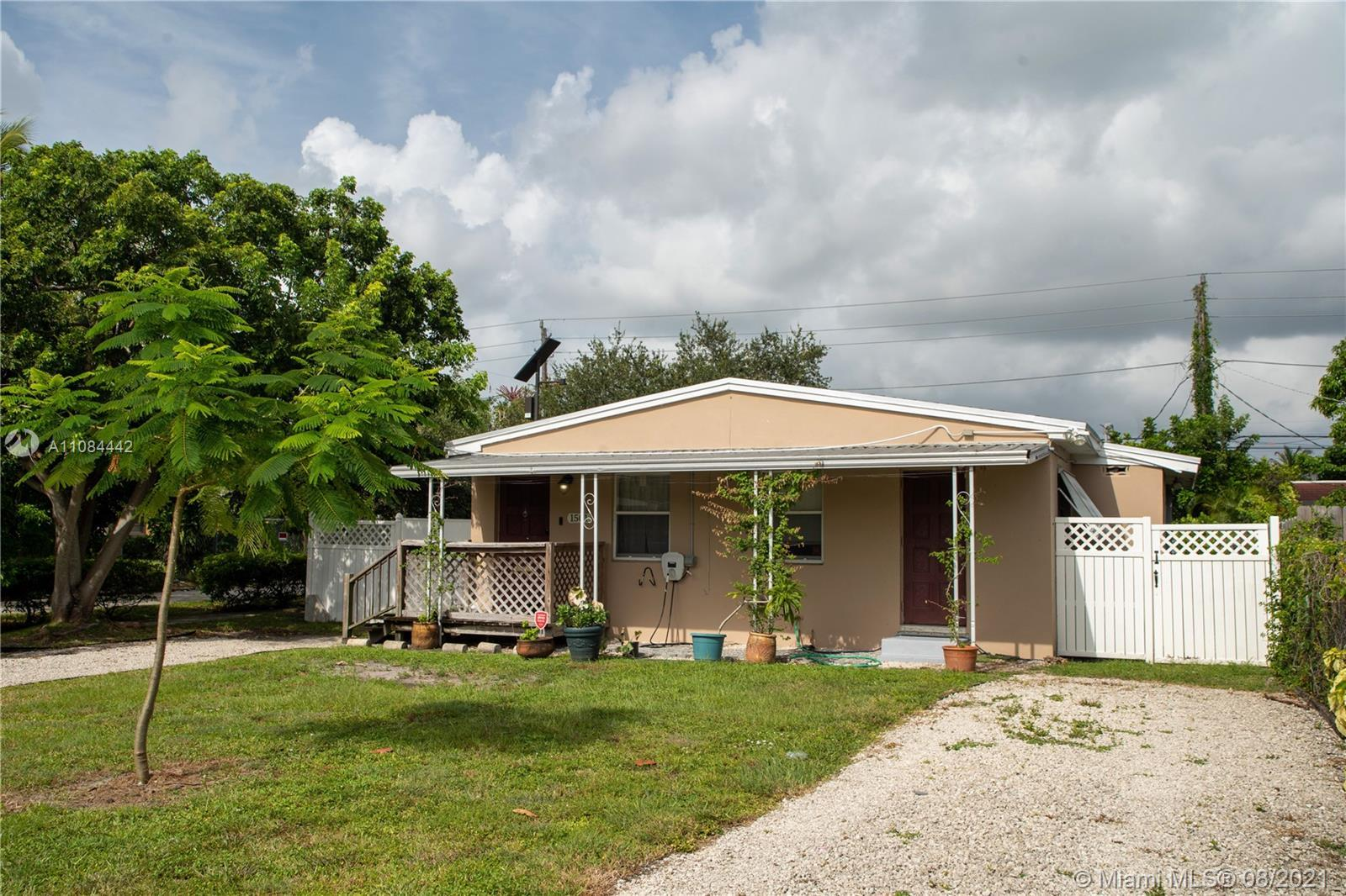 Bright and renovated 2 bed and 2 bath single family home in one of the fastest growing neighborhoods