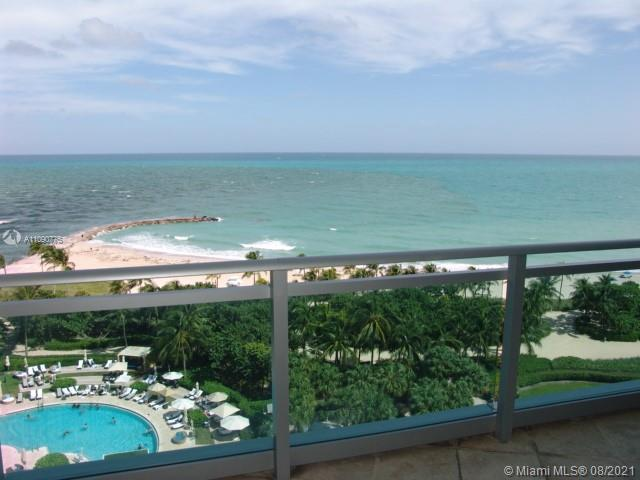 Direct Ocean view from 8th floor. This is a full amenities building. As a resident you can use both