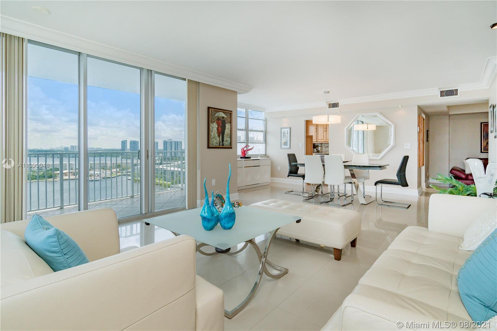 Beautifully remodeled largest corner unit in Admirals Port, 2 bedroom + den, 2 bath, modern, with st