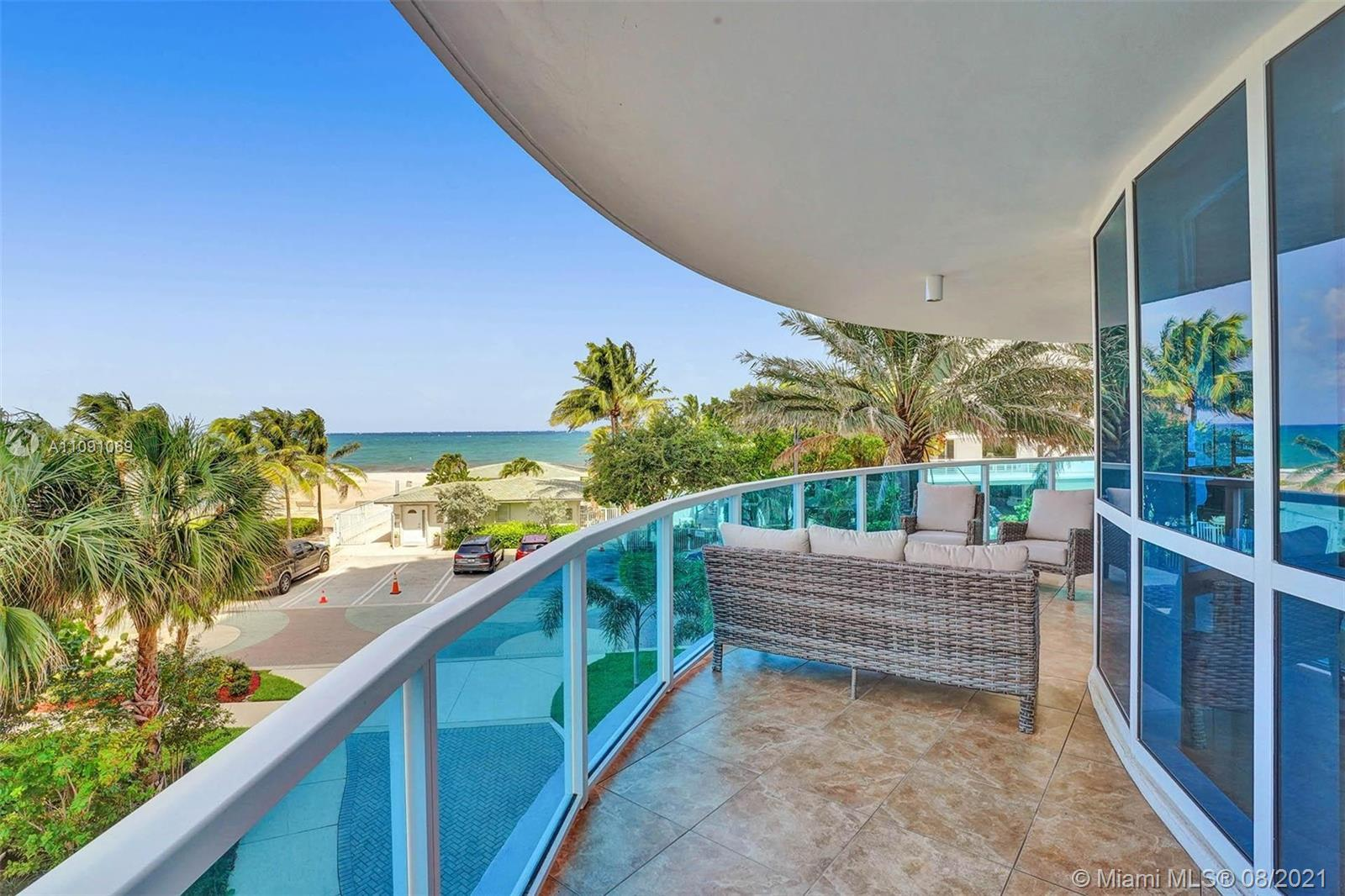 Boutique Condo, over 2800 SF of Ocean front living.  Private Beach access, Oceanfront pool, private