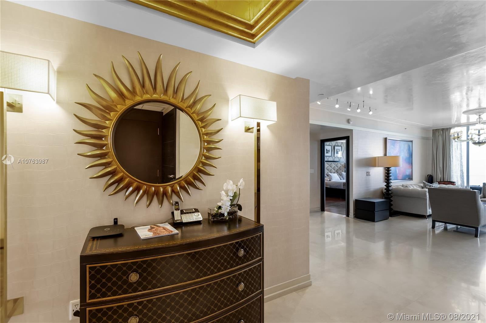 BEST LINE AT ACQUALINA!!! Just remodeled a magnificent unit with over a million dollars in Upgrades!