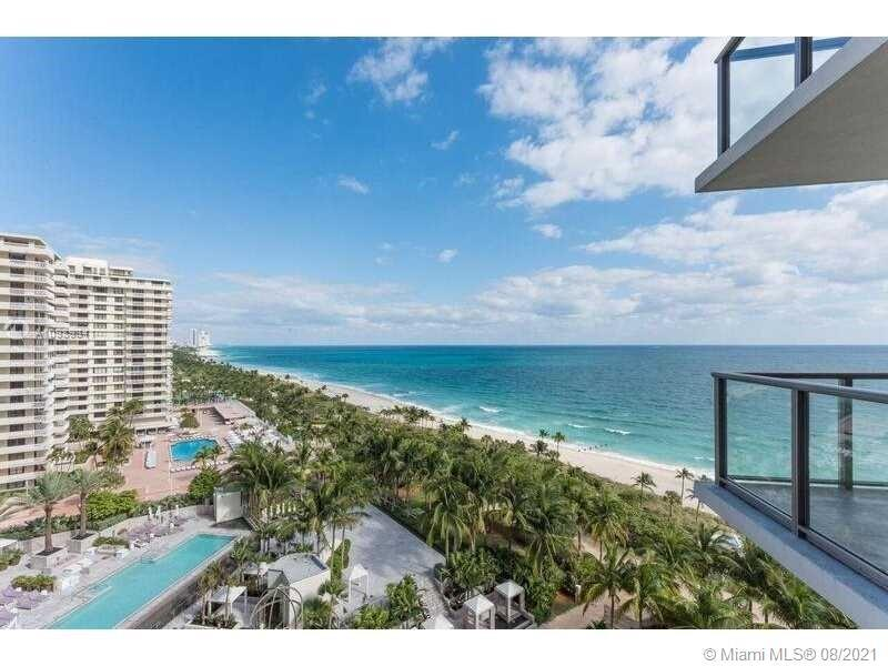 Direct Ocean, completely outfitted by ST Regis. 1 bedroom and FULLY ENCLOSED DEN Plus 2 bath. TWO di