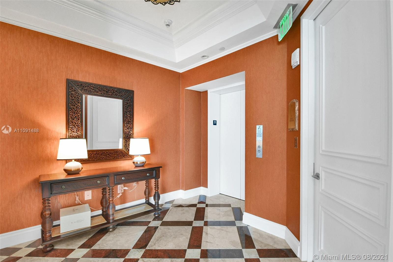 Spectacular one of a kind 4 bed and 6.5 bath plus maids room, beautiful NE corner unit has views of