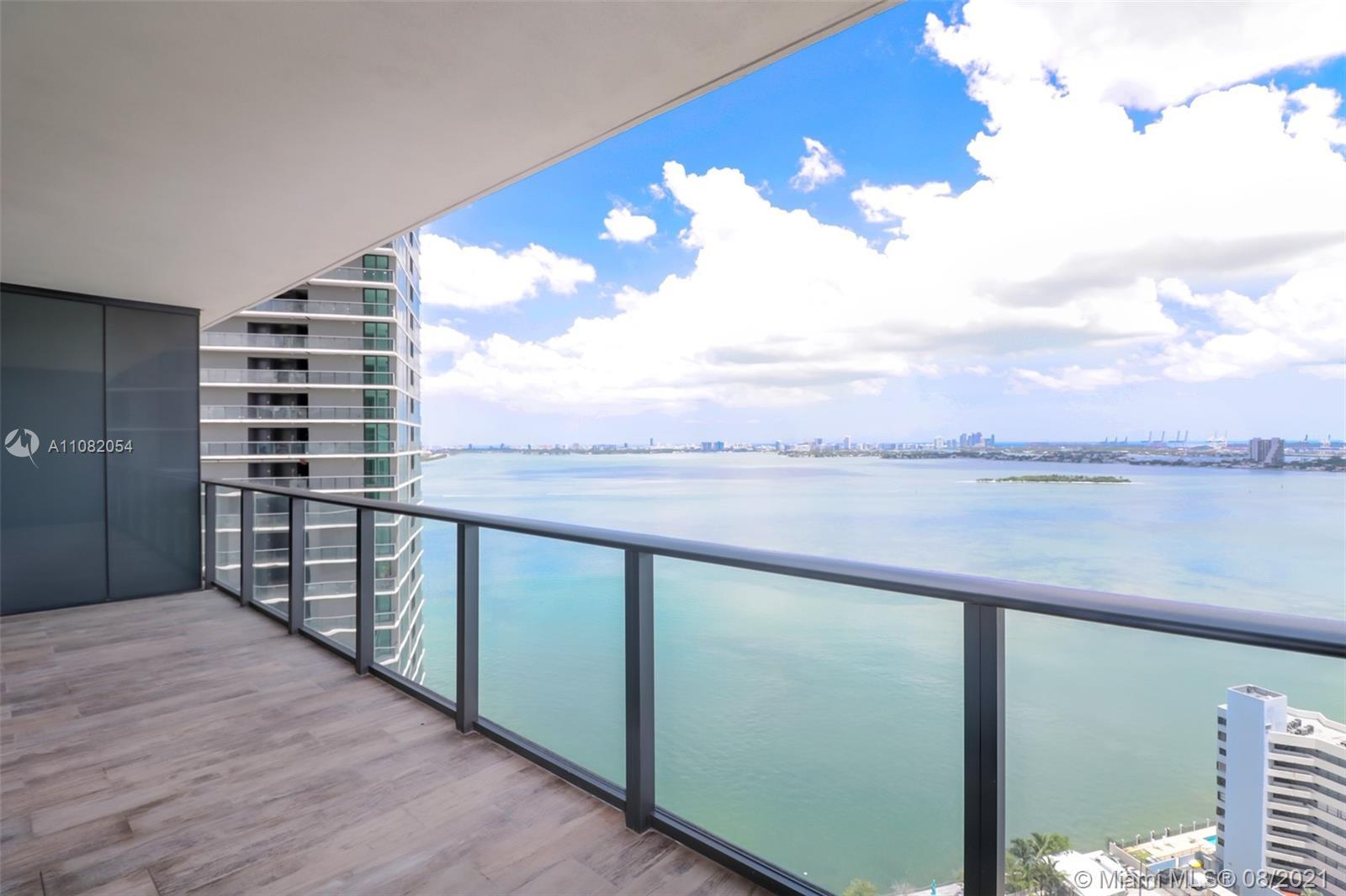 PARAISO BAY - FURNISHED 2 Bedroom 3 Bath Plus Den apartment with Direct Breathtaking Water Views! Wo