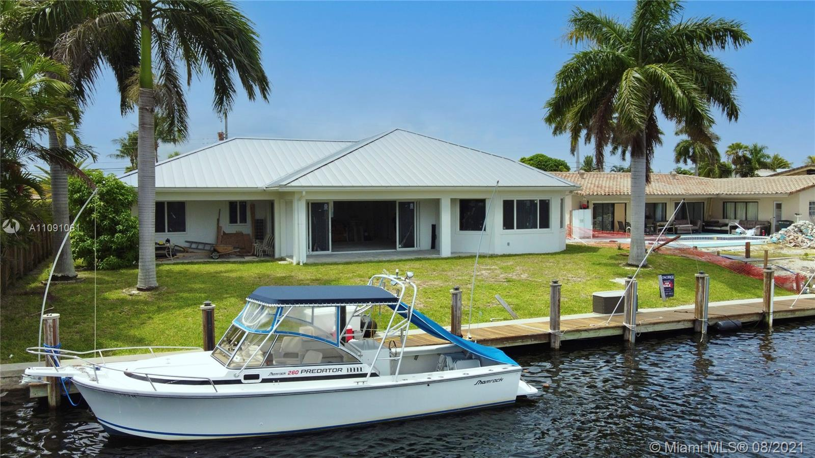 New Construction South Florida OAIS; Boaters Dream Expansive Water View w/ 85 ft.frontage and min to