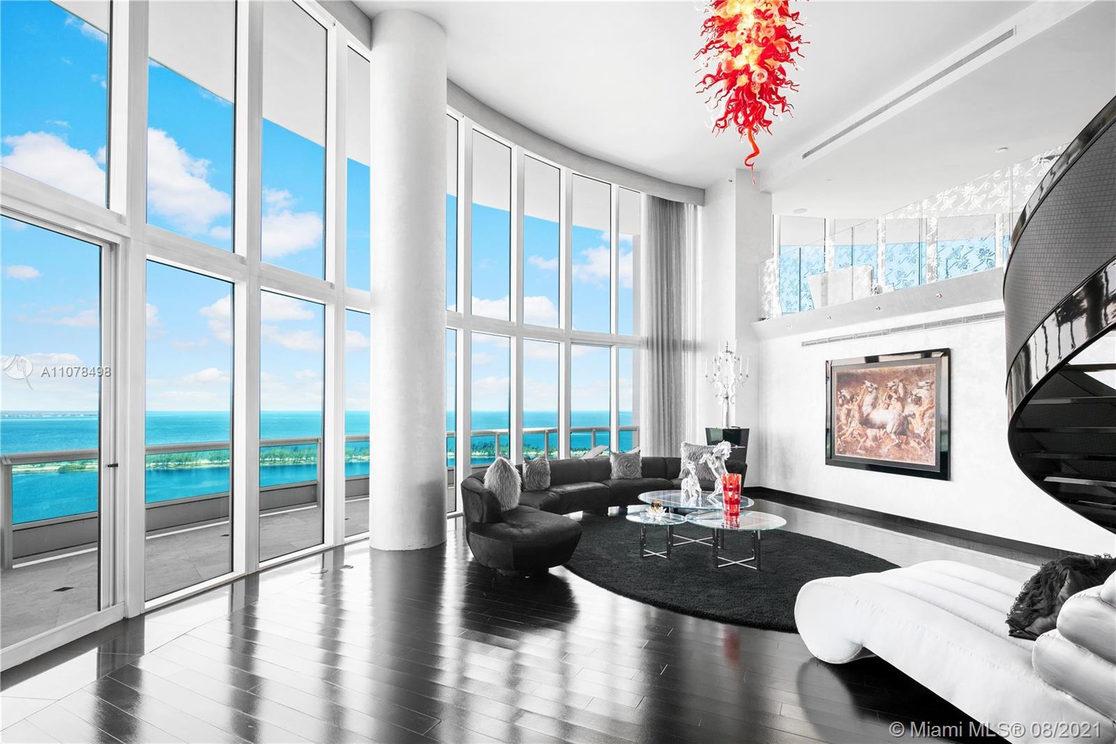 Located in one of the most sought-after addresses on the 31st floor in Brickell's iconic Santa Maria