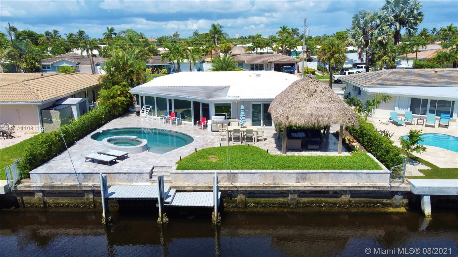 Magnificent Waterfront Single family Home  70' east facing deep water lot x 110 . This home offers a