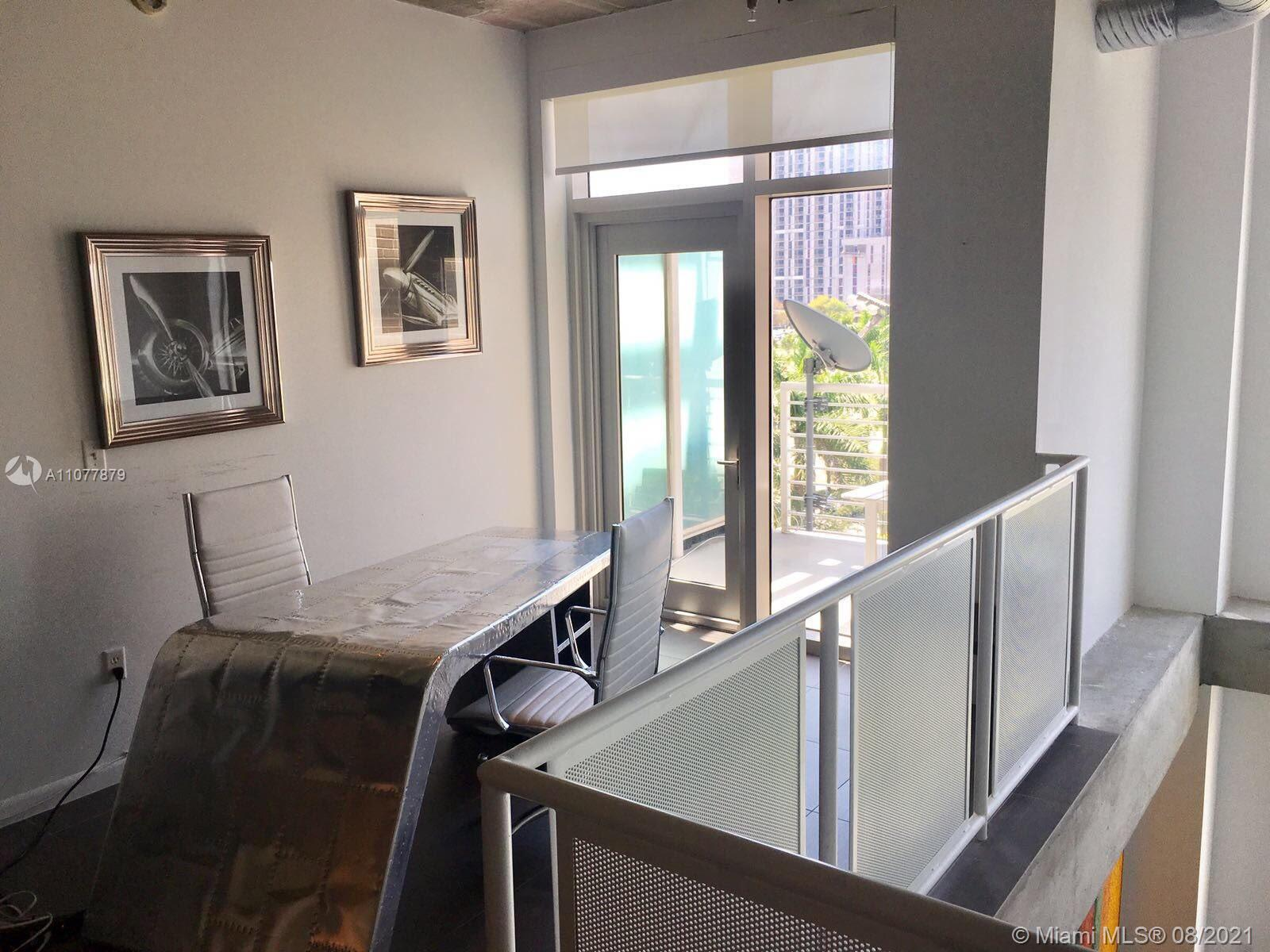 Beautiful and Spacious loft for sale. Unit has two stories on the first floor, you have the kitchen,