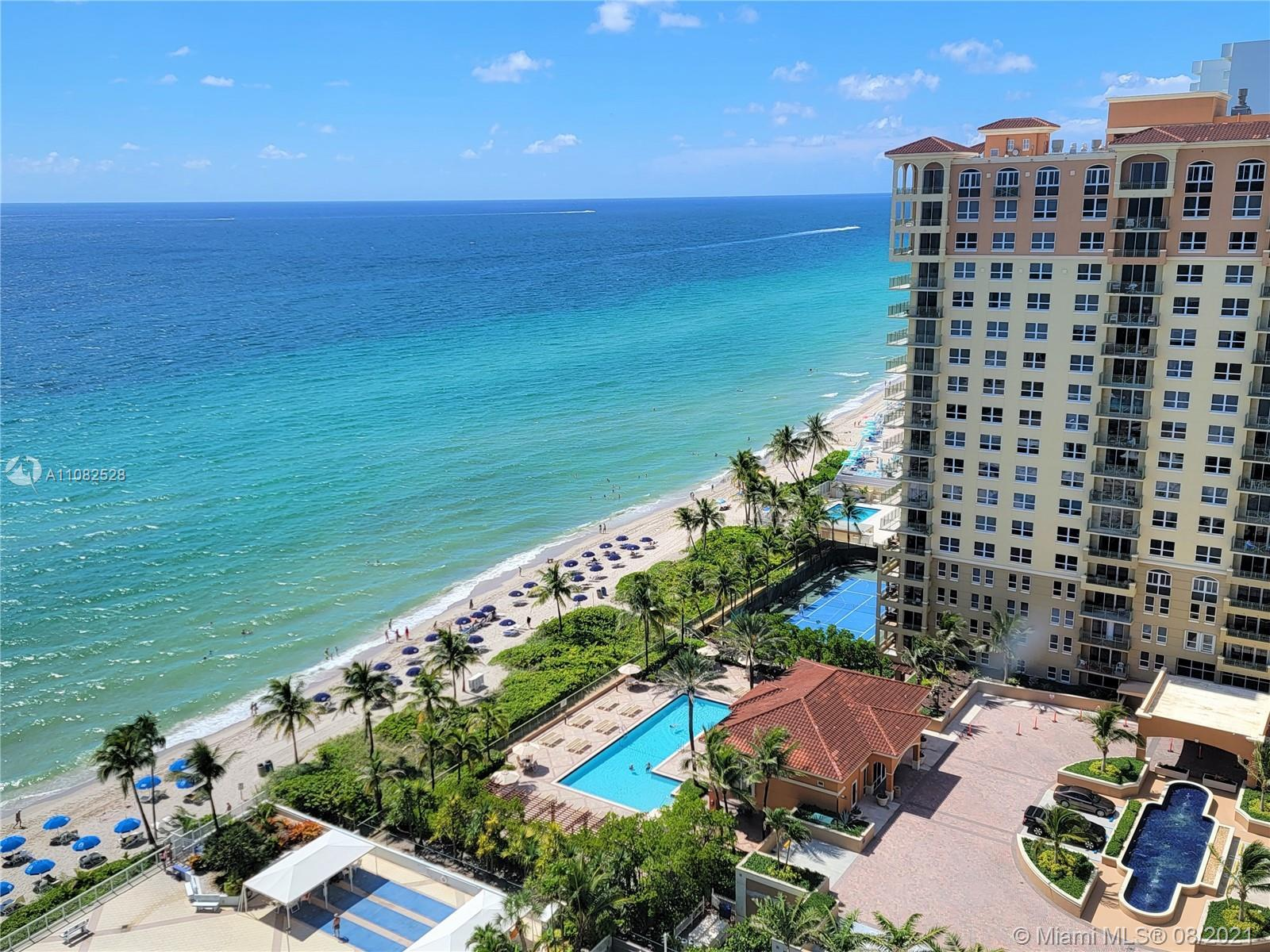 Oceanfront, With Ocean Views From Every Room, Including The Large Open Balcony!  South Facing With H