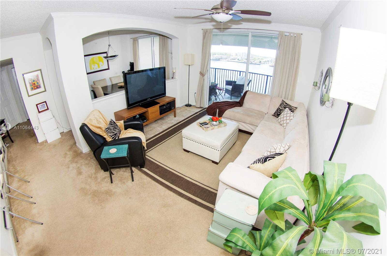 lower penthouse with direct bay view, largest 3 bedroom 2 bath palladio floor plan, 2 parking spaces