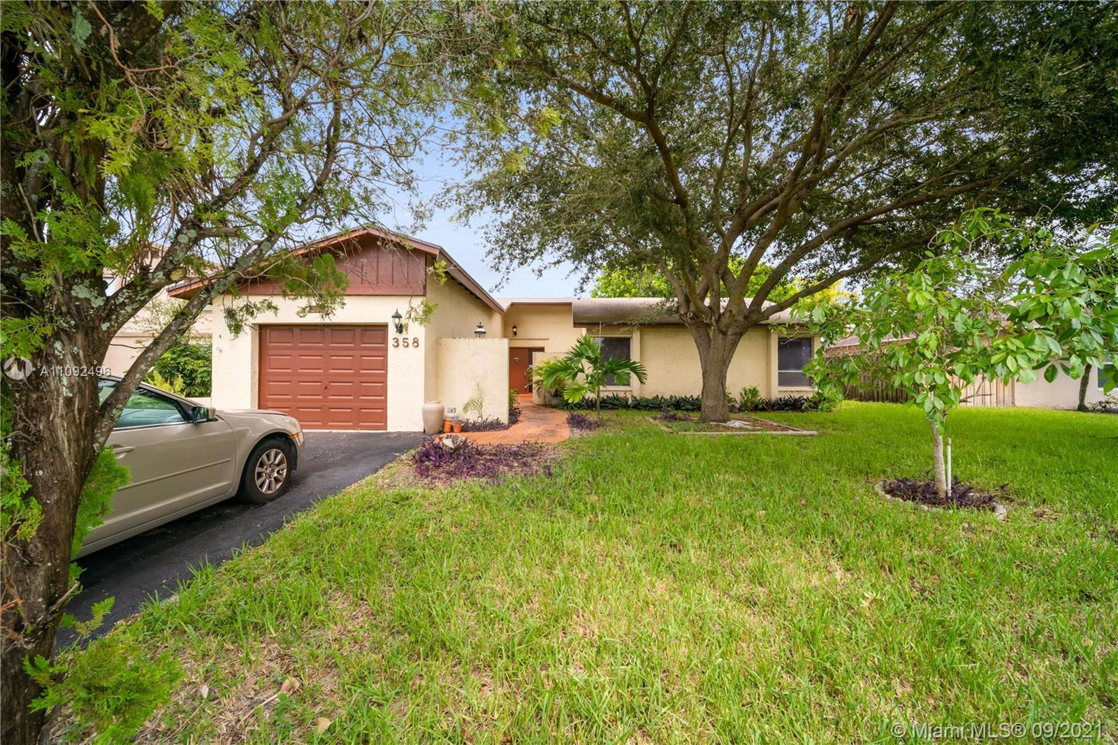 Charming 3 bedroom, 2 bathroom one story single family home in the heart of Deerfield Beach. This lo