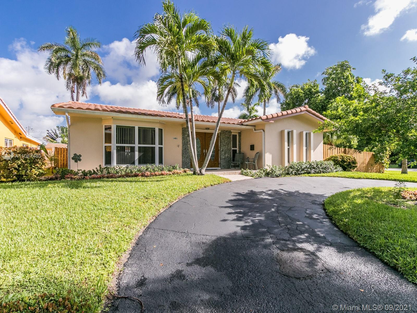 Location is the key to a happy life! 2nd generation family owned, Corner lot, Circular driveway. Min