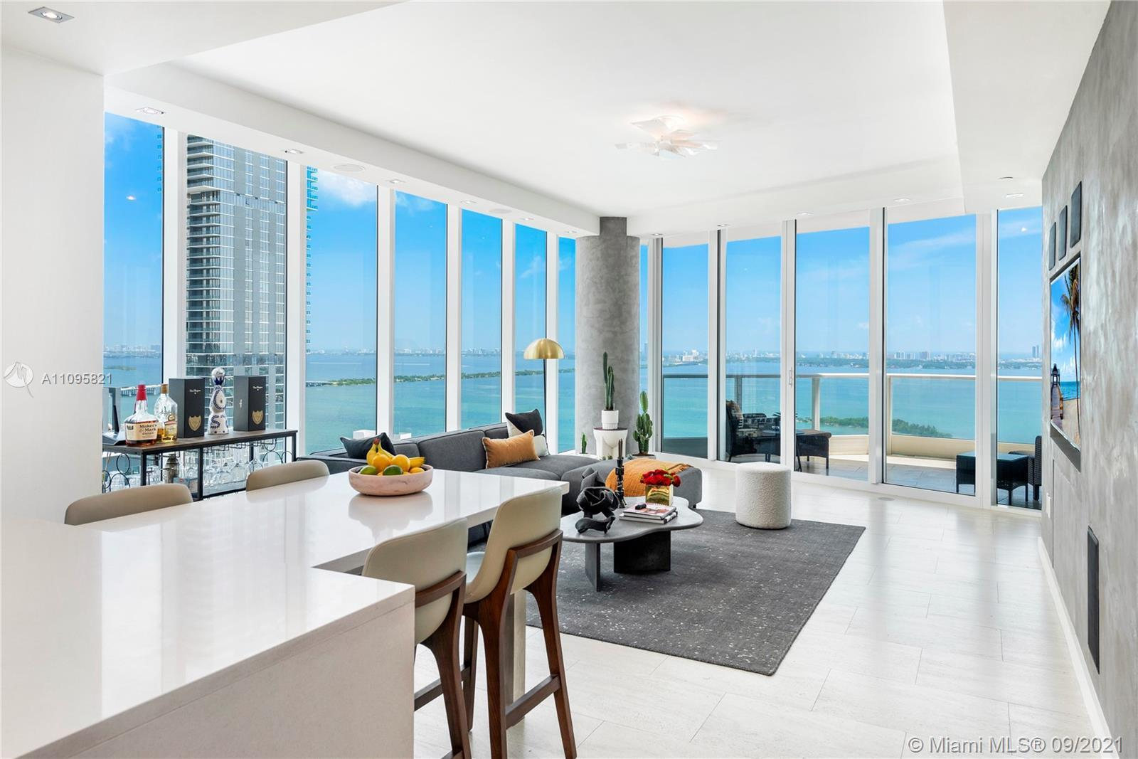 Sleek & Modern, and MOVE IN READY this 2 Bedroom / 2.5 Bathroom corner condo in the luxurious Paramo