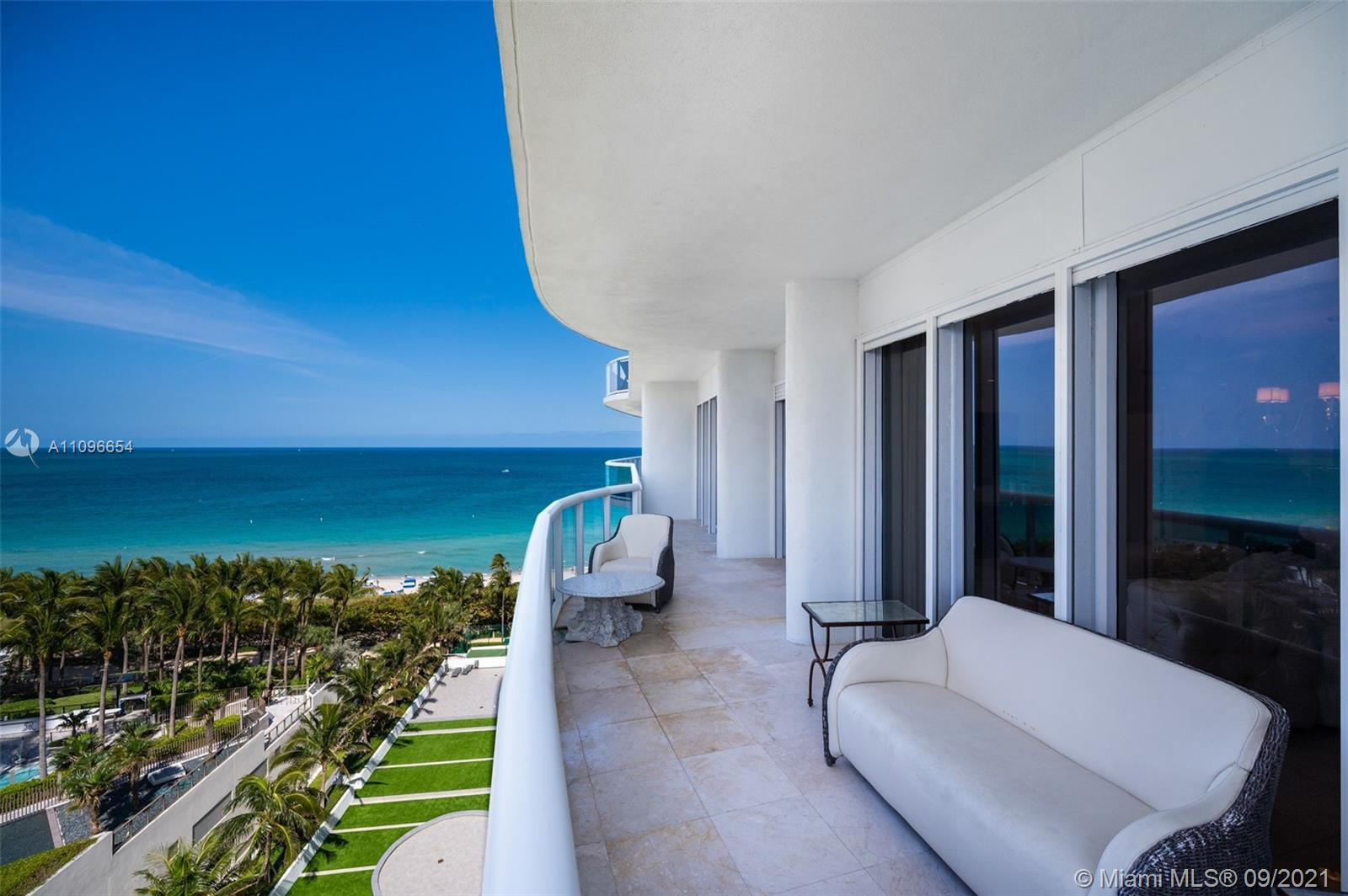 Spectacular Oceanfront Residence with Breathtaking Ocean and City Views.. 2160 SQFT unit, 02 Bed 02