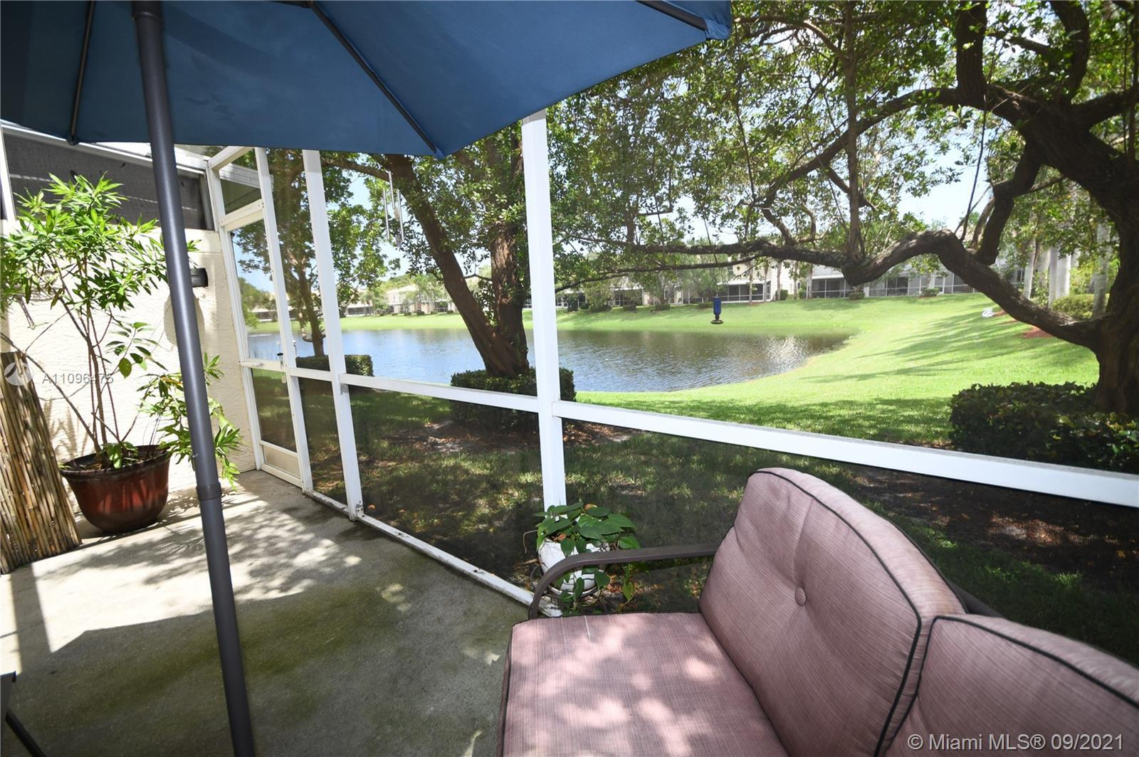 Much sought after 2 bed 2 1/2 bath townhouse w/water view in the heart of Jupiter. This 2 story unit