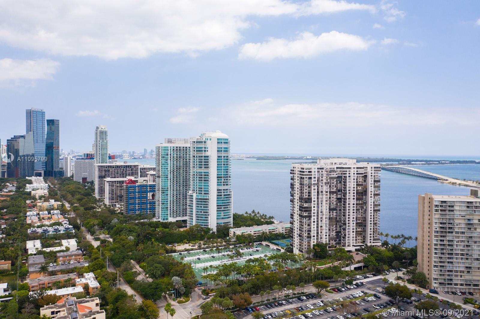 Located in one of Brickell's most recognized addresses, this bright and spacious 1 bedroom, 1.5 bath