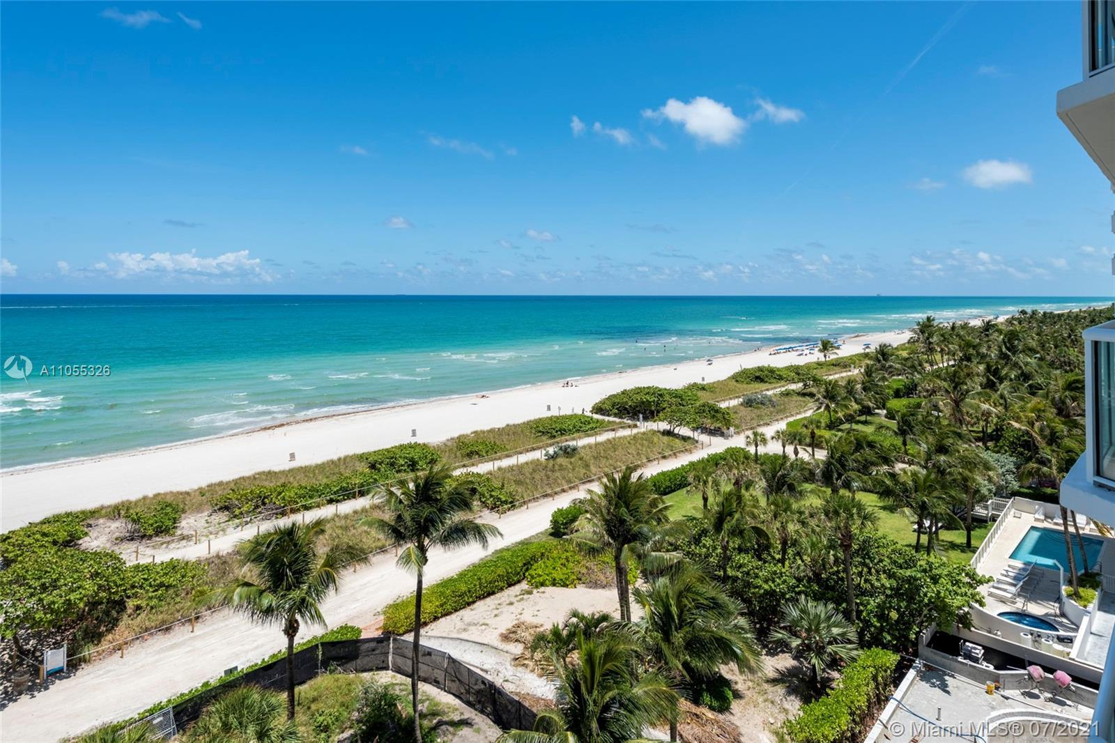 Estate Sale in the desirable Mirage on the Ocean condominium. Located in Surfside known to be one of