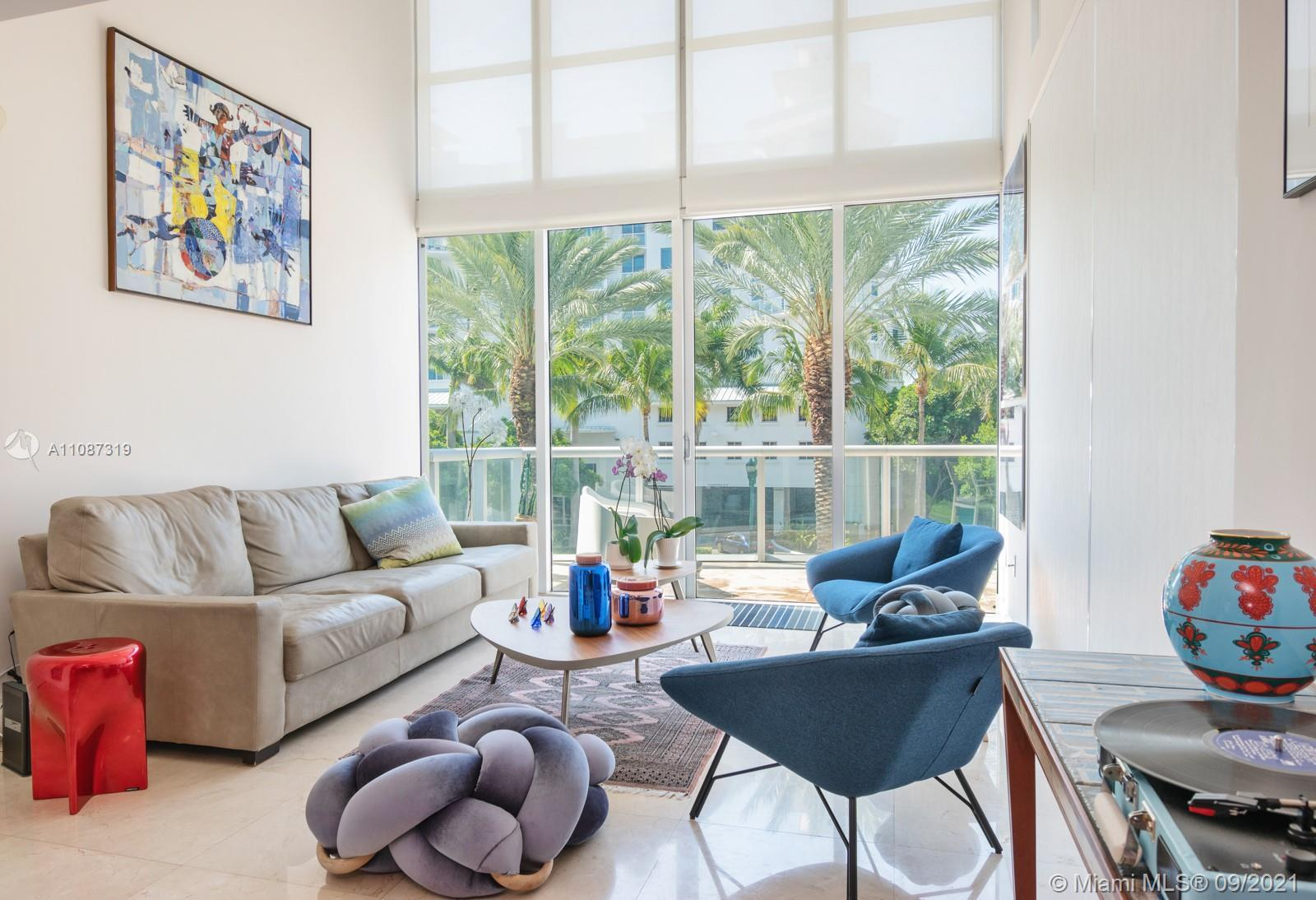 The Atrium is an amazing building in Aventura. This bright and spacious two-story unit with balcony