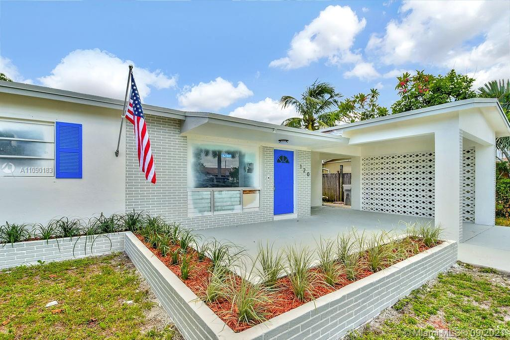A one of a kind must-see home in the heart of Pompano Beach. Completely remodeled with sophisticated