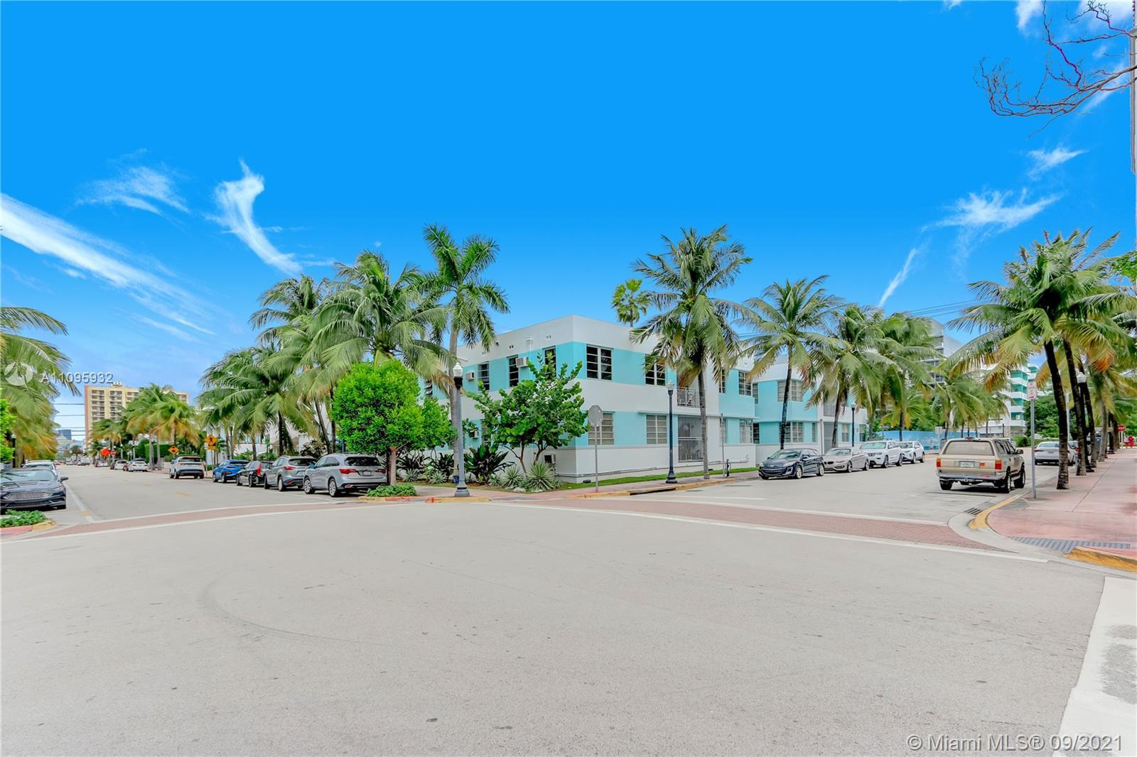 Beach Pied-a-Terre!  This renovated corner studio is just a block from the beach!  New bathroom and