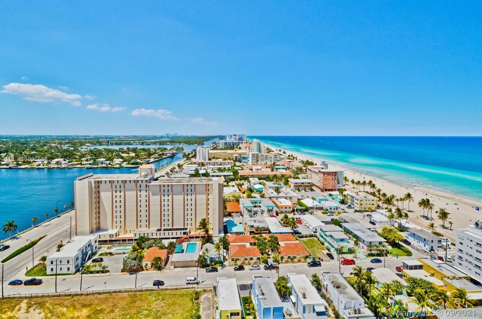 Incredible panoramic water views of ocean + intracoastal, unobstructed all the way to Ft. Lauderdale