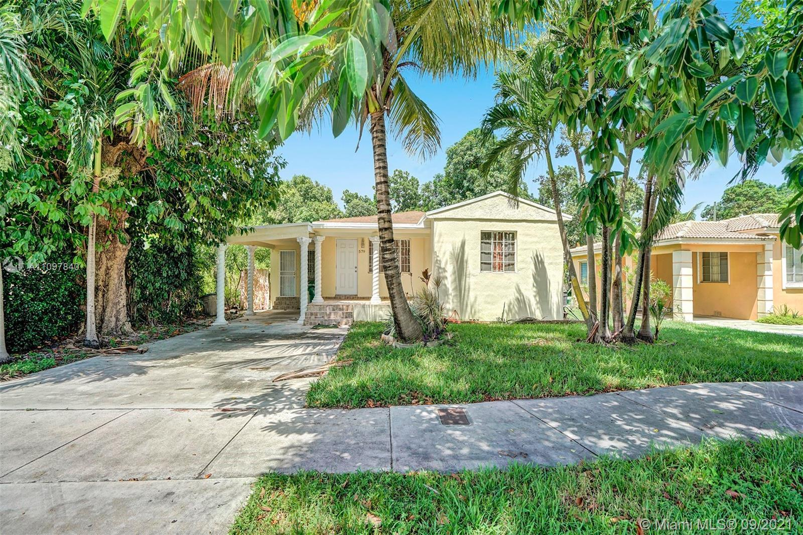 West Miami Shores Diamond in the Rough! Beautifully remodeled waiting for your finishing touches. Ne