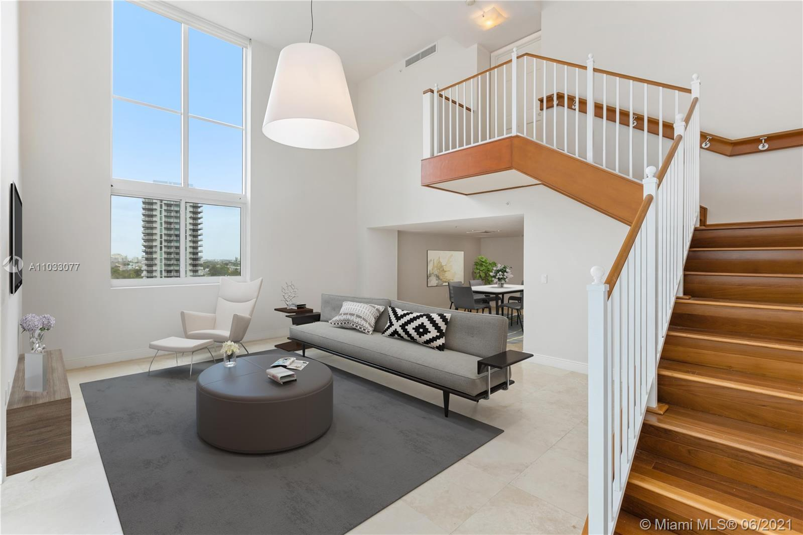 Live in Edgewater with beautiful views in this spectacular 3 bedroom 3.5 bath unit with views of Bis