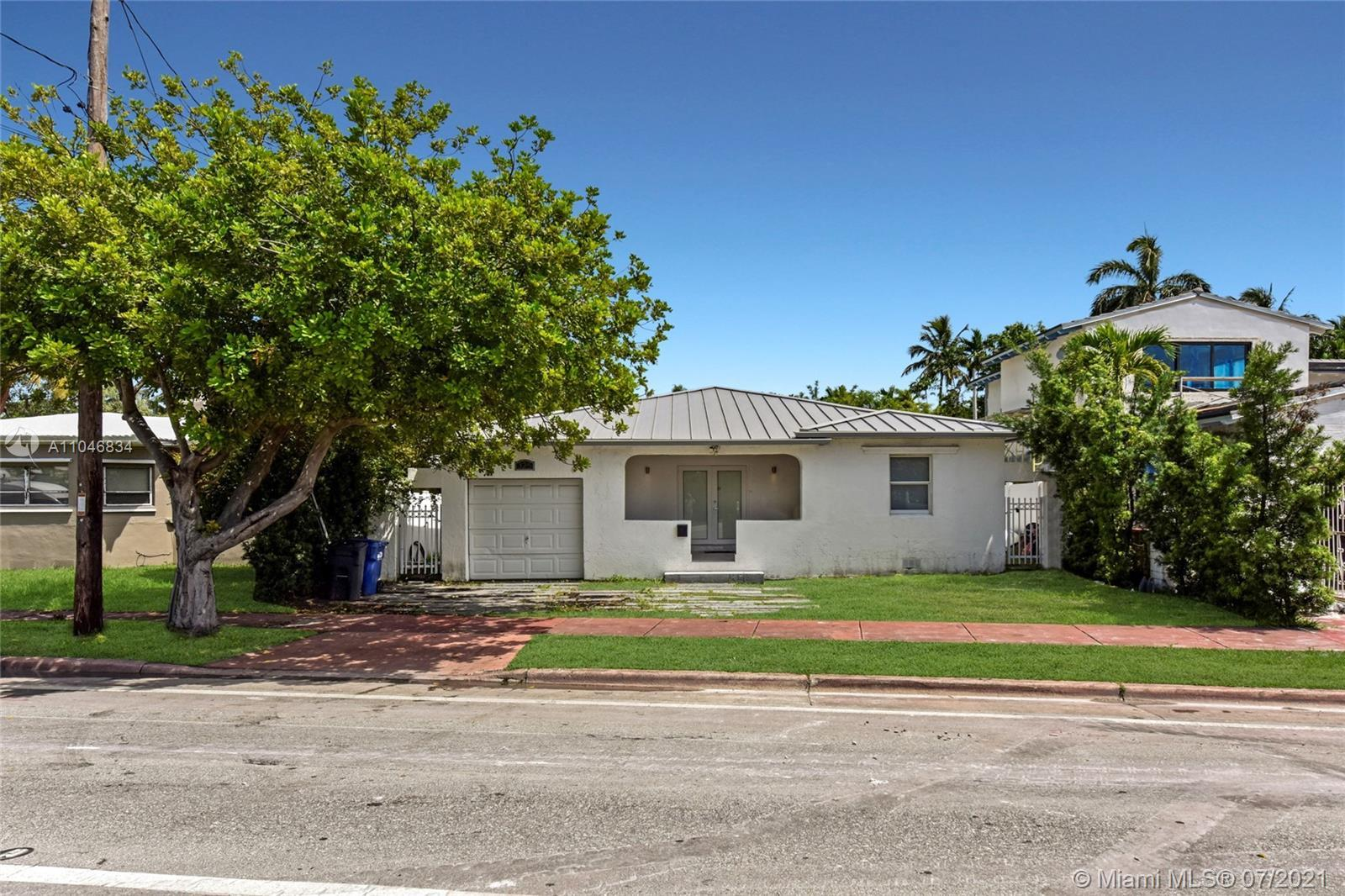 Live the quintessential Miami Beach lifestyle in this lovely 3 bedroom, 2.5 bathroom house right off
