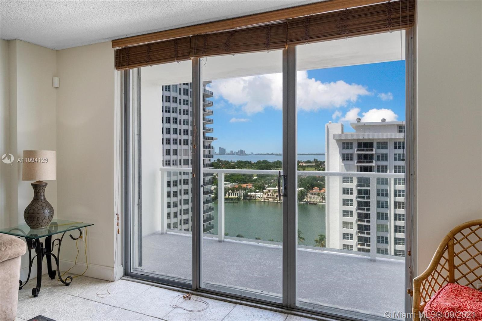 Beautiful furnished 1BD 2BA Unit on Millionaire's Row. Spacious unit with beautiful Intracoastal and