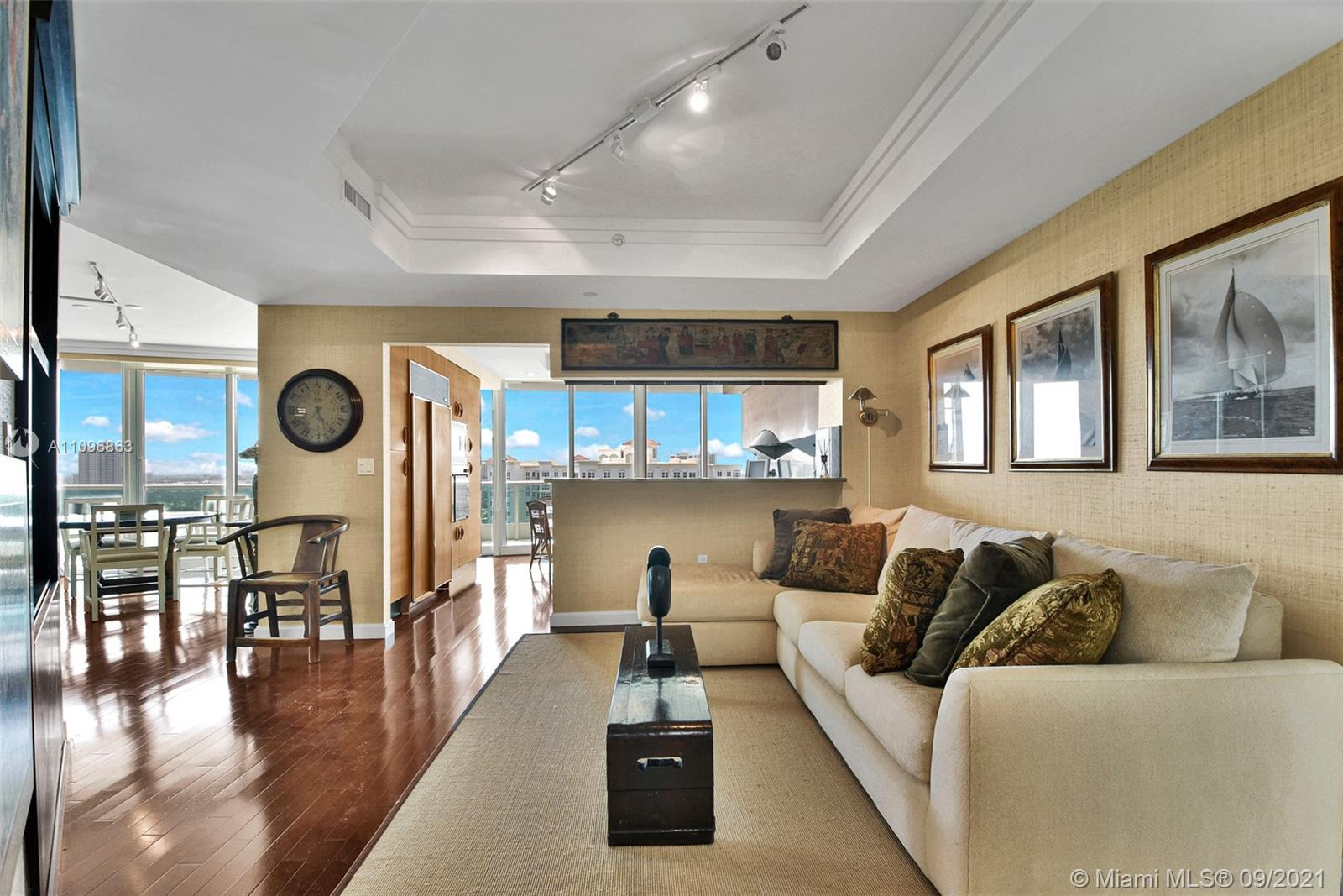Enjoy this beautiful furnished 2 bedroom paradise in the sky, located in the most exclusive and luxu