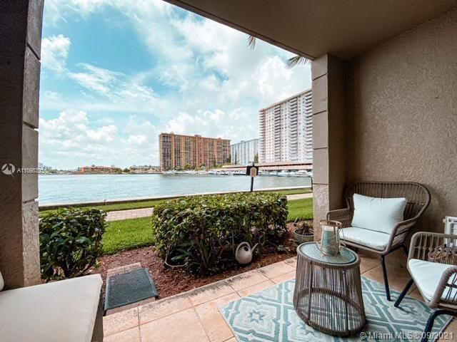 Spectacular direct Intercostal & Marina View from every room in this Mediterranean Resort style bldg