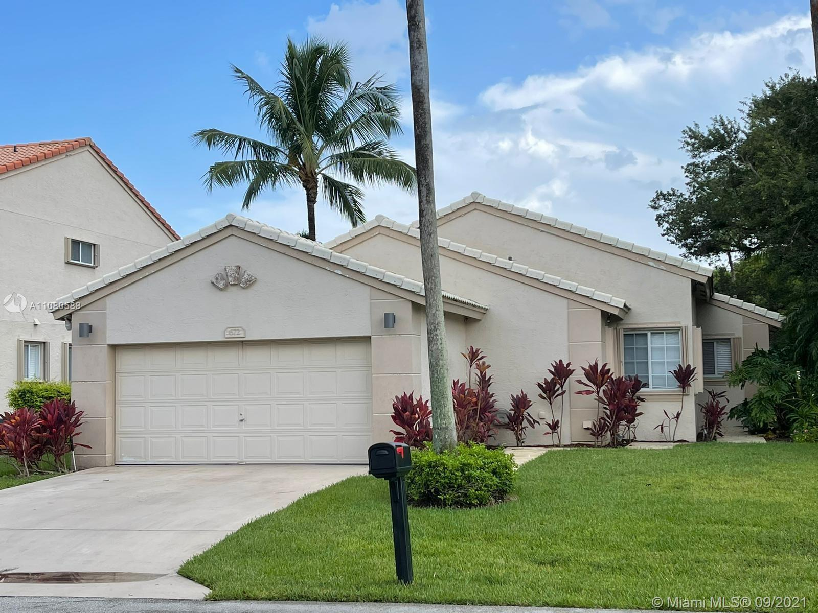 Beautiful, spacious, and well maintained 3/2 corner lot house, features screened patio, new hurrican