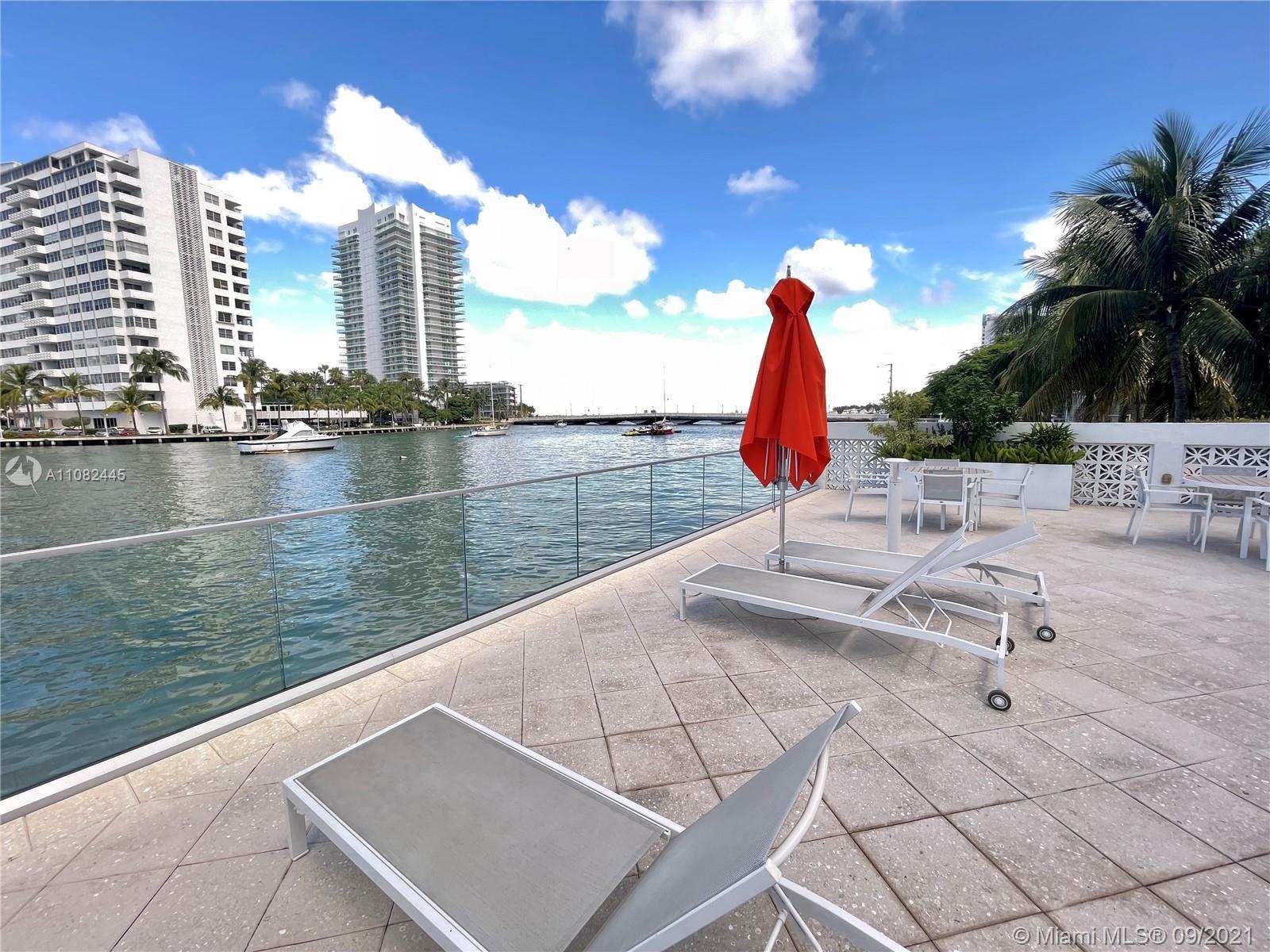 Step back into a more elegant era when you walk into this unique South Beach 2 bed/2 bath corner con