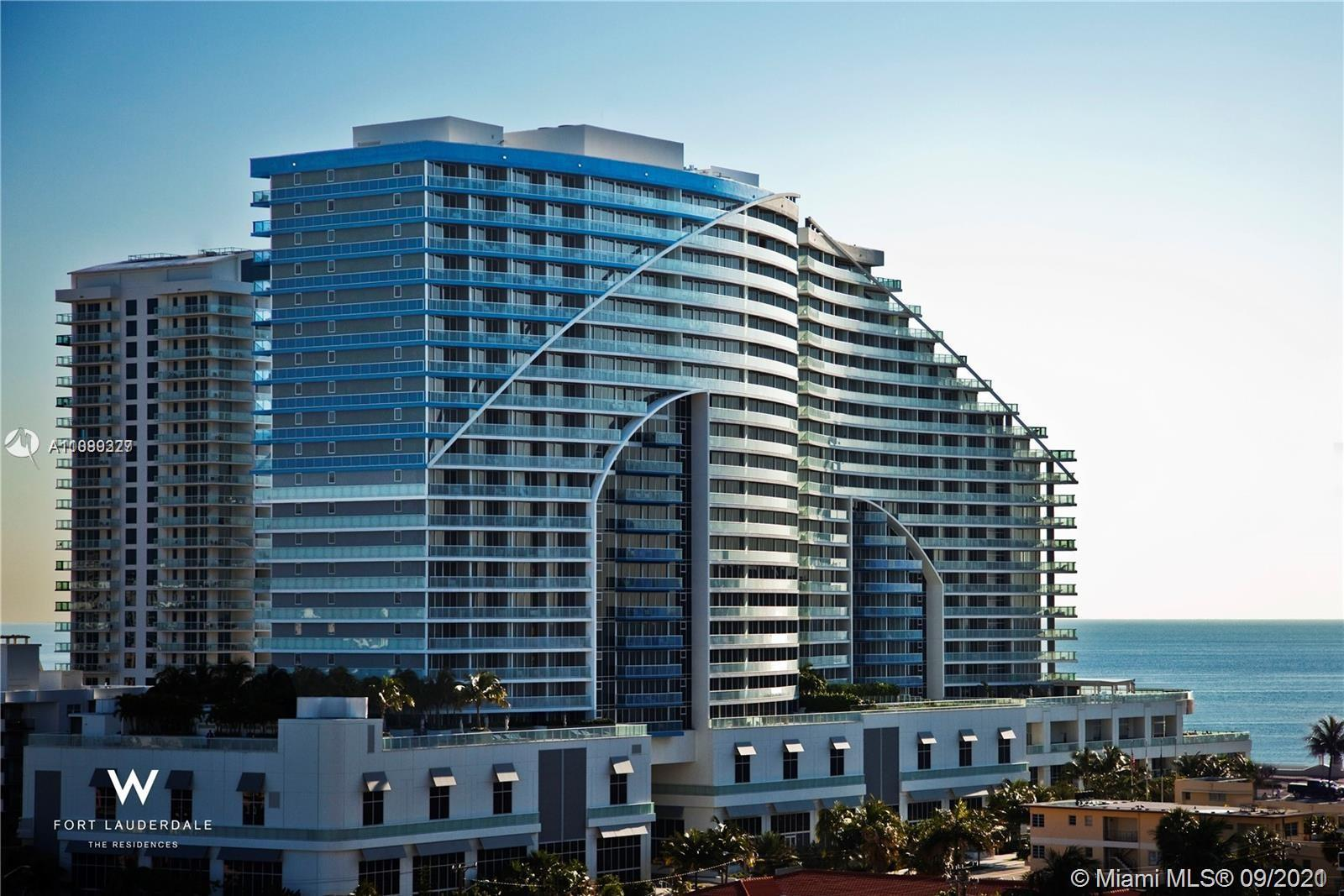 Acquire a permanent sense of escape at The Residences at W Fort Lauderdale. Located in one of the wo