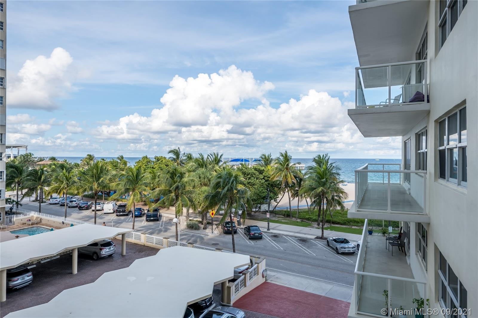Amazing views from this unit .Best building pompano Beach Sea Monarch Remodeled unit, internet serv